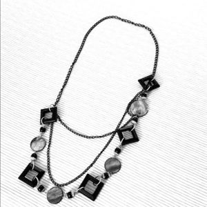 Beautiful black necklace